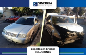 destruccion total por accidente